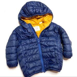 Zara Baby Boy Navy Blue Puffer Jacket